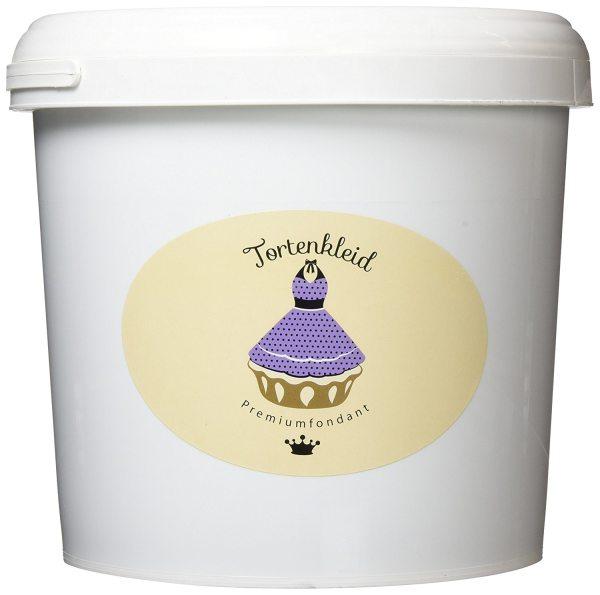 Tortenkleid Rollfondant weiß 7 kg