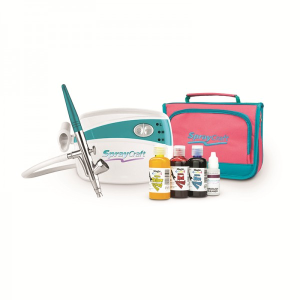 Cake Decorating Airbrush & Kompressor-Kit