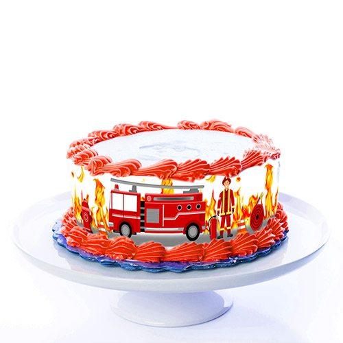 Tortenband Feuerwehr