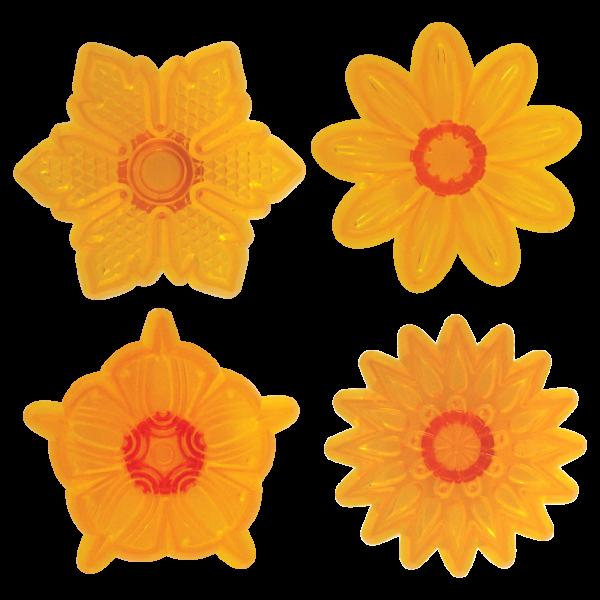Jem Fantasy Blüten als Topper für Cupcakes