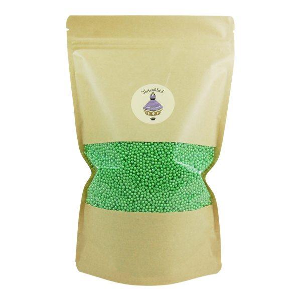 Zuckerperlen 4mm Grün 500g