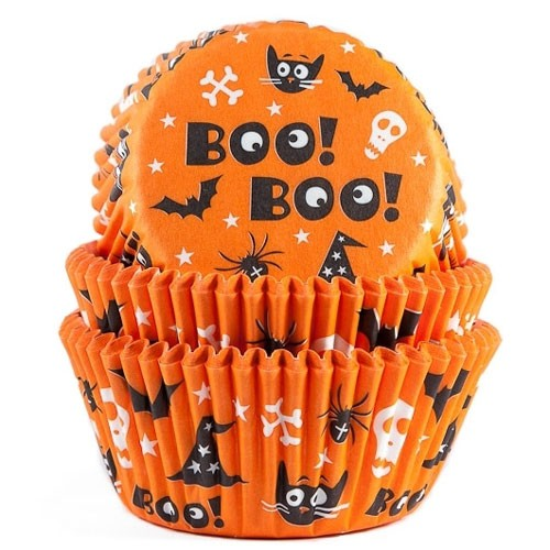 HoM Baking cups Scary 50Stück