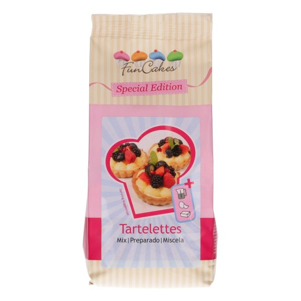 FunCakes Mix für Tartelettes 500g