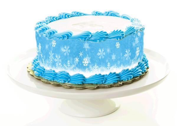 Tortenband Winter
