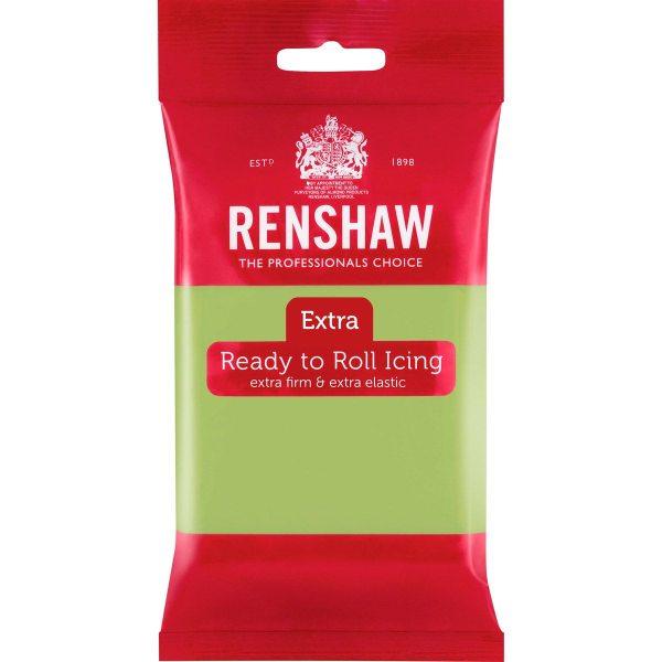 Renshaw Rolled Fondant Extra 250g -Pastel Grün-