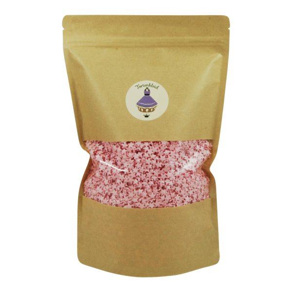 Streudekor Sterne Glimmer Pink 500g