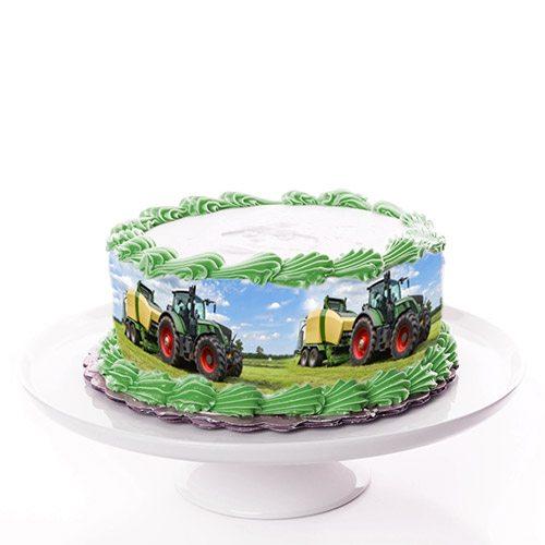 Tortenband Traktor