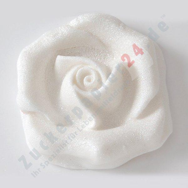 """Tortenkleid """"Dekoration"""" Pump Glitzer Silber 10 g"""