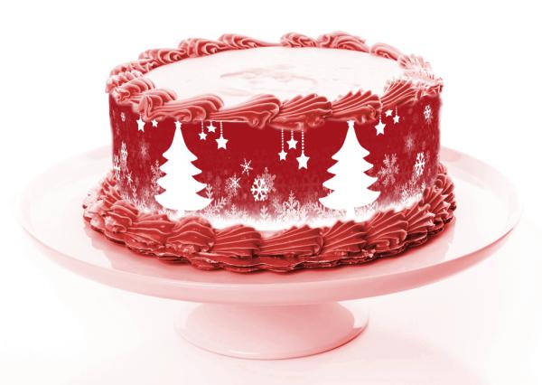 Tortenband Weihnachten 1
