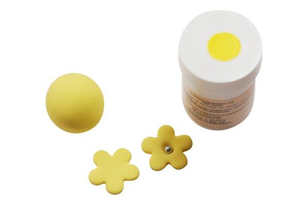Tortenkleid Pastenfarbe Gelb 30g AF