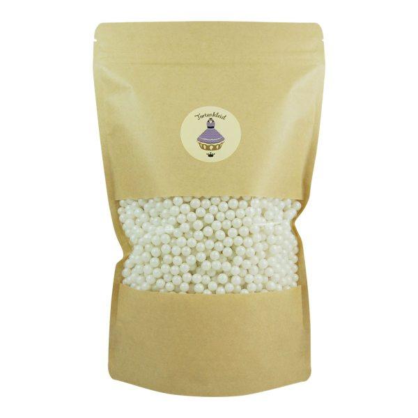 Zuckerperlen 7mm Perlmutt 500g