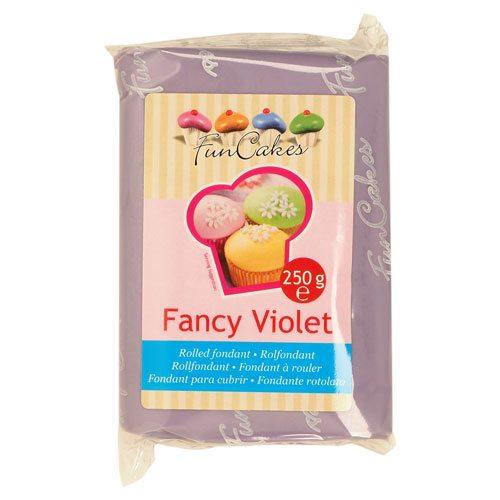 Funcakes Rollfondant (Pastell Violet / 250gr)