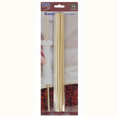 PME Bambusstäbchen 12 Stück