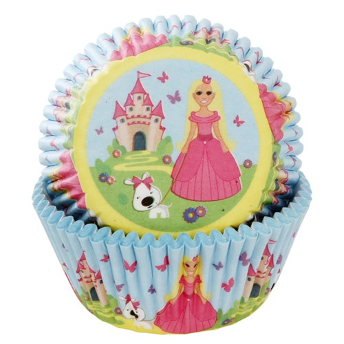 House of Marie Baking Cups Prinzessin 50/Pkg