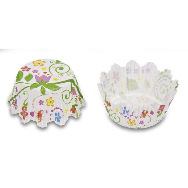 Städter Mini Muffinförmchen Blumengarten 100 Stück