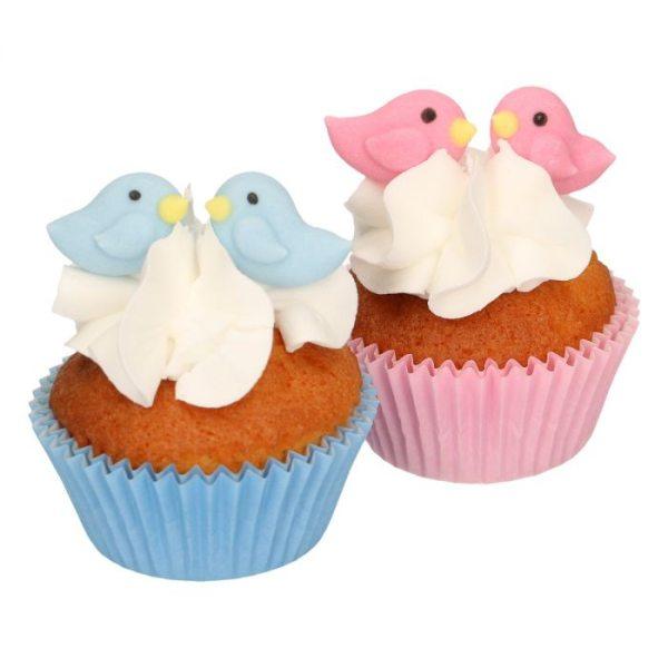 Funcakes Zucker Dekoration Love Birds 16 Stück