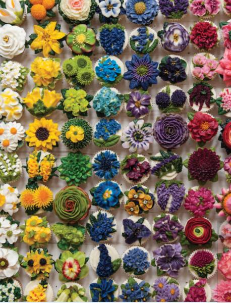 100 zauberhafte Frostingblüten