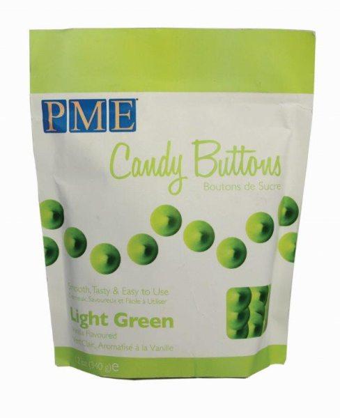 PME Candy Buttons Hellgrün 340g