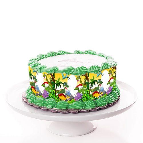 Tortenband Dinosaurier