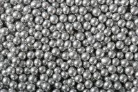 Zuckerperlen 4mm silber 500g