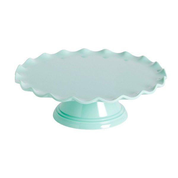 Kuchenständer Wave Mint 27,5cm