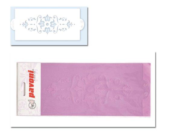 Pavoni Stencil / Schablone für Icing, Airbrush etc. Stencil03