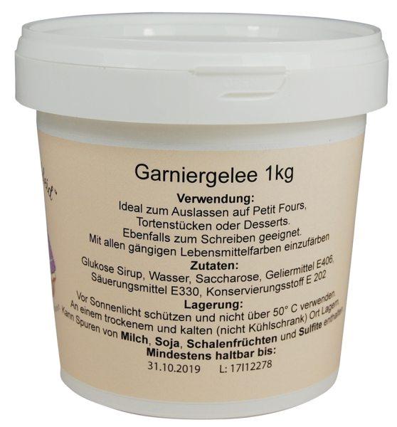 Tortenkleid Piping Gel / Garniergelee 1 kg