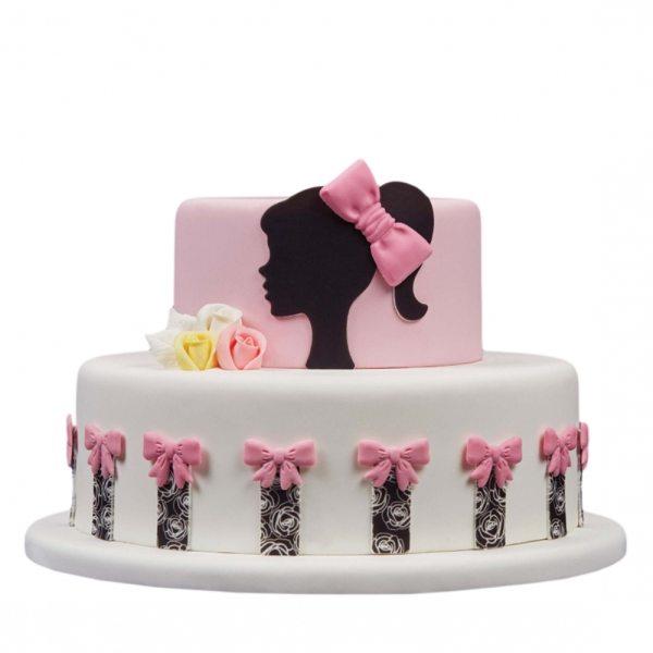 Tortenaufleger Kuchen Tattoo Girl