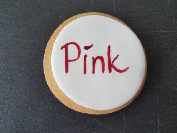 Tortenkleid essbare Wassermalfarbe Pink 5g AF MHD