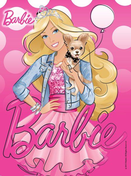 Tortenaufleger Barbie rechteckig