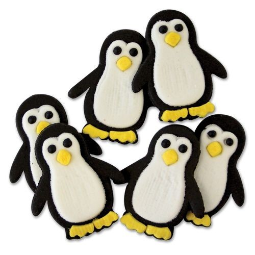 PME Zuckerdekoration Pinguine 6Stück