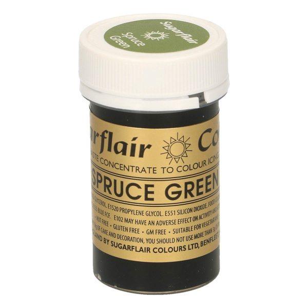 Sugarflair Paste Colour SPRUCE GREEN, 25gr.