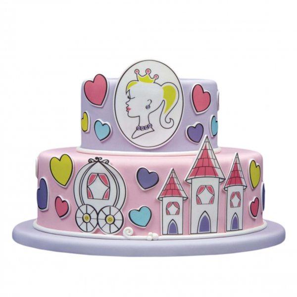 Tortenaufleger Kuchen Tattoo Prinzessin