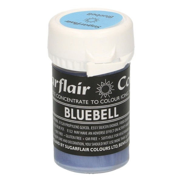 Sugarflair Pastel Colour Bluebell 25g