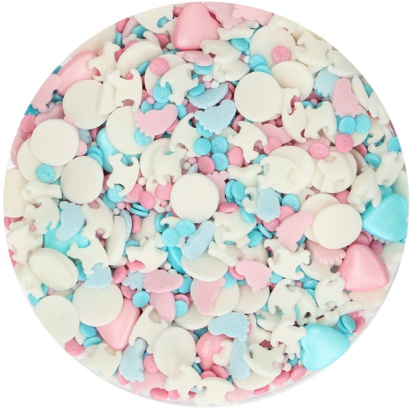 FunCakes Sprinkle Medley - Gender Reveal - 65g