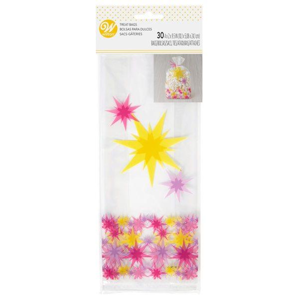 Wilton Geschenktütchen - Sterne - 30 Stück