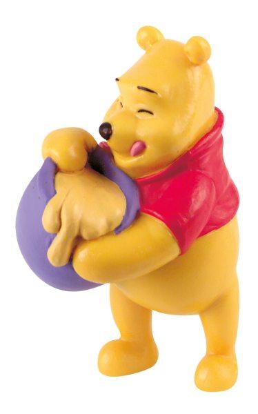 Disney Figur - Winnie Puuh mit Honigtopf -