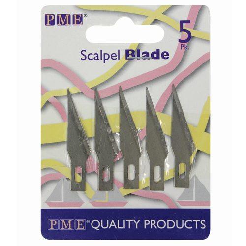PME Modellier Werkzeug, Scalpellklinge für Messer 5 Stück