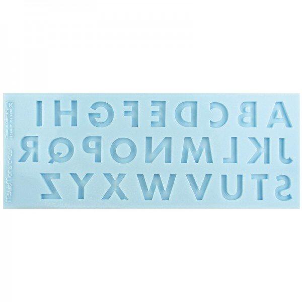 Silikonform Groß-Buchstaben Set
