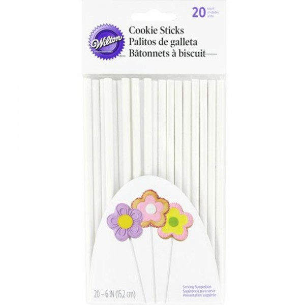 Wilton Cookie Sticks 15 cm / 20 Stück