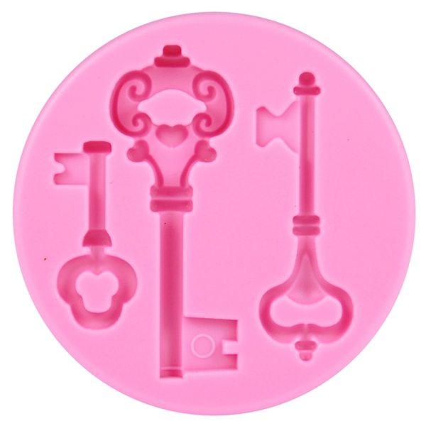 Tortenkleid Silikonform Schlüssel