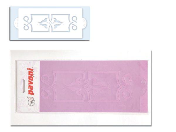 Pavoni Stencil / Schablone für Icing, Airbrush etc. Stencil02