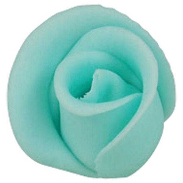 Zuckerrosen blau klein 30 Stück 30mm