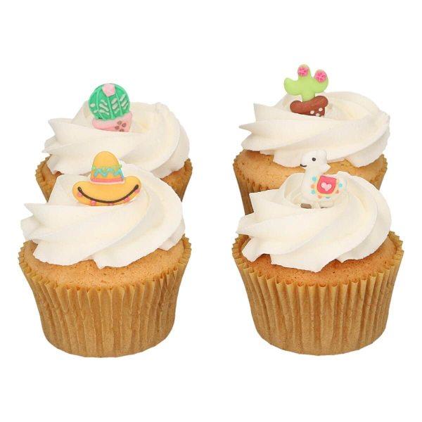 Funcakes Zucker Dekoration Alpaca Set 8 Stück