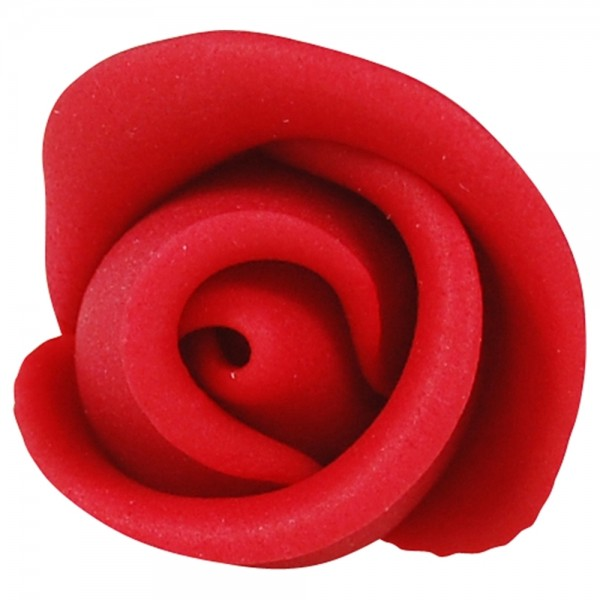 Zuckerrosen rot klein 30 Stück 30mm
