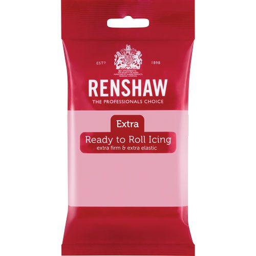 Renshaw Rollfondant Extra 250g -Pink-