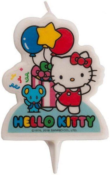 DeKora Kerze - Hello Kitty -