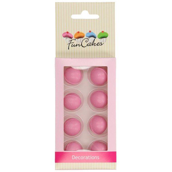 Funcakes Schokokugeln Pink 8 Stück