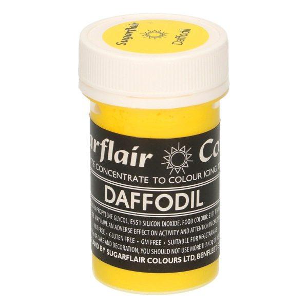 Sugarflair Pastel Colour Daffodil, 25g