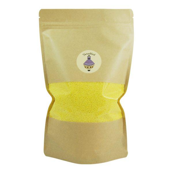 Nonpareilles Glimmer Gelb 50g